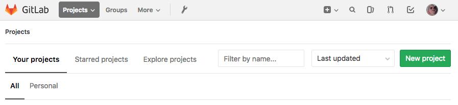 Gitlab setup — Gitlab CI with Docker and Sphinx 0 1